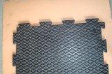 Переплетение резиновые коврики лошадей/резиновый коврик стабильного Китая заводская цена