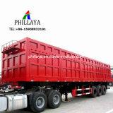 Corpo da caixa Van Semitrailer caminhão de reboque de carga fechados