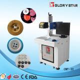 Máquina CMT-30 da marcação do laser da câmara de ar do metal do CO2
