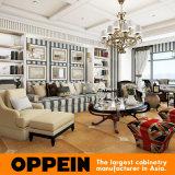 Casa de madeira maciça de luxo Oppein Sala móveis domésticos (PO15-HS9)