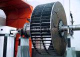 Machine d'équilibrage du moteur du ventilateur de soufflante