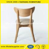 Cadeira de madeira de carvalho de alta qualidade com banco de PU