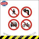 주문을 받아서 만들어진 도로 안전 알루미늄 사려깊은 경고 표시 널