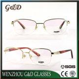 2018 Nuevo estilo de metal popular producto óptica anteojos anteojos de marco