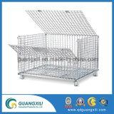 Atelier de la cage de stockage standard avec un bouchon dans l'entrepôt