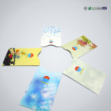 Luva do suporte de cartão da folha de alumínio RFID do protetor do cartão da identificação