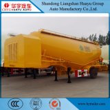3axles Bulk Cement Tanker Semi Trailer card for Powder Material Transport
