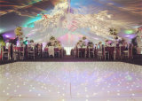 Acryl Witte het LEIDENE DMX Mutifunctional Fonkelen Door sterren verlicht Dance Floor met Correcte Actieve Automatische Programma's Allon