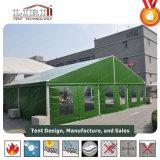 10X20m grünes Belüftung-Deckel-Aluminiummilitärarmee-Zelt