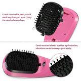 LCD het Haar van de Stoom van de Vertoning borstelt het Snelle Ceramische Haar van de Massage van de Haarborstel