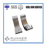 Pièces en aluminium de usinage de bâti en acier de moulage au sable de moulages de précision de commande numérique par ordinateur de haute précision
