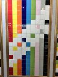 Azulejo de cerámica colorido 100X100X7m m de la pared