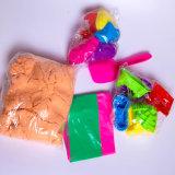 Le sable magique de sable d'argile de qualité badine le sable de l'espace de jouet de DIY