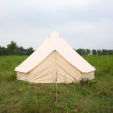 Верхняя Qaulity водонепроницаемым брезентом 10 квадратный метр Bell Палатка для сафари