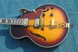 금 기계설비 (TJ-275)를 가진 Sunbust에 있는 고전적인 Es335 재즈 기타