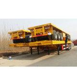 3つの車軸容器輸送Cimcのトレーラー