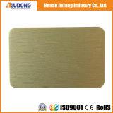 Comitato-Aludong composito di alluminio del rivestimento di 3mm PVDF