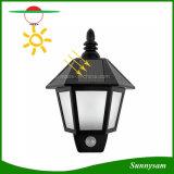 La luz solar impermeable hexagonal del sensor de movimiento de la pared de luz LED Lámpara Luz nocturna para jardín