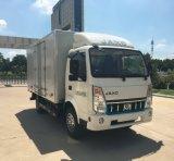 Caminhão elétrico da caixa de 4.5 toneladas