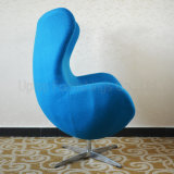 De groene Vrije tijd Arne Jacobsen Egg Chair van de Bank van de Villa (SP-HC169)