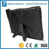 Caisse de silicones de survivant de griffon pour la caisse de la tablette T820 de la languette S3 9.7 de Samsung