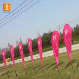 Трикотажные полиэстер рекламы Бич флаг (TJ-001)