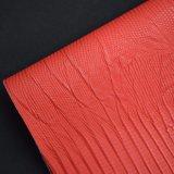 Cuoio di pattino sintetico impresso pelle animale del sacchetto del Faux dell'unità di elaborazione della lucertola