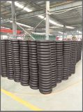 Roda pneumática da borda 3.00-8 plásticos para o Wheelbarrow