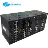 8 портов промышленного Ethernet Poe