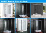 Châssis en aluminium en verre trempé clair cabine de douche douche (BLS-9405)