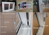 PVC de madeira Slide / Sliding Open Windows para Varanda