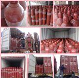 Nahtloser Stahl CO2 Gas-Zylinder 40L
