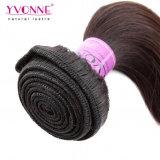等級5A 100%年のHuman Hair Weft Remy Peruvian Hair