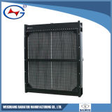 Radiador de aluminio del radiador de cobre Yfd22A-A04-1 para el radiador modificado para requisitos particulares Genset