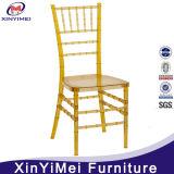Chaise empilable en cristal doré Chiavari pour location