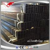 Casilla negra y tubos huecos rectangulares del acero estructural de la sección