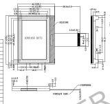 De grafische LCD van het Radertje Module van de Vertoning: Aqm1016A Reeks