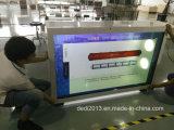 Coffret d'étalage avec l'écran de visualisation transparent de 55 pouces