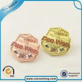 경찰은 직업적인 새로운 디자인 금속 접어젖힌 옷깃 Pin 기장의 명찰을 단다