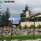 Rete fissa del giardino ornamentale di obbligazione di prezzi bassi con il cancello