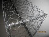 Горячим гальванизированная сбыванием шестиугольная ячеистая сеть коробки Gabion