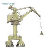 Herkules-Berufsseehafen-schwerer Schöpflöffel-Behälter-Aufzug-Kran
