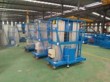 14m China heißer Verkaufs-gute Qualitätsniedriger Preis-kleiner hydraulischer elektrischer Aluminiumaufzug 200kg mit Cer-Bescheinigung
