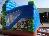 子供の小さく膨脹可能なジャングルの跳躍の警備員