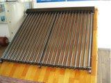 2016 Nuevo tubo de evacuación sin presión colector solar