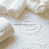 Оптовая торговля 100% хлопок 32s/S высокой плотности отель полотенце, жаккард банными полотенцами.