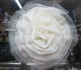 Accessori decorativi dell'indumento del fiore multicolore chiffon all'ingrosso di modo