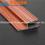 Profil en aluminium de transfert en bois des graines pour les portes coulissantes et le Windows
