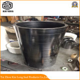 Anillo de guarnición de grafito flexible; la válvula de la bomba de alta temperatura Anillo de junta de varilla de grafito flexible el anillo de embalaje