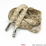 Мода Металлические принадлежности Shoelace обратить шнур питания лента веревки обувь Sneaker Pimps